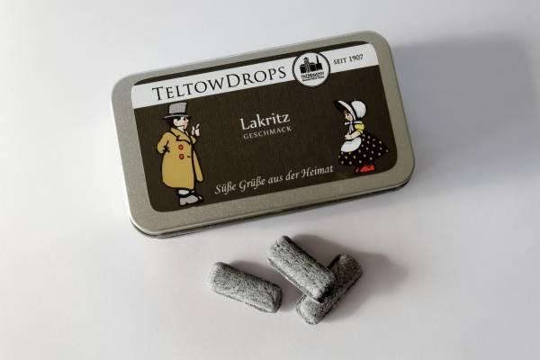 TeltowDrops | Lakritz Bonbons | 90 g Dose